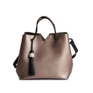 Pixie Mood Jasmine Bag Metallic Pewter